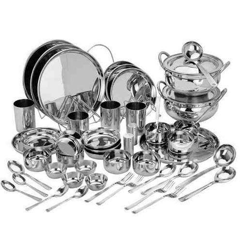 Stainless Steel Utensils Set For Kitchen Rs 5500 One Set 101 Pcs