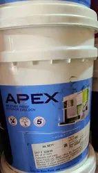 Asian Paints Matt Apex Weatherproof Exterior Emulsion, Packaging Type: Bucket