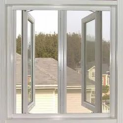 Powder Coating Thermal Aluminium Window, For Home, Office