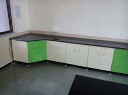 Green And White Industrial Lab Furniture