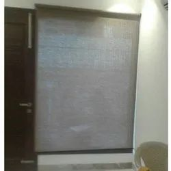 Cotton White Vertical Roller Blind, For Window