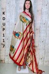Printed Cotton and Khadi Fancy Dupatta