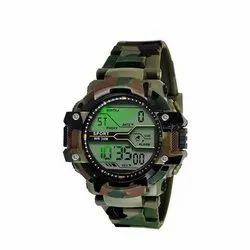 Round Men Fancy Digital Wrist Watches