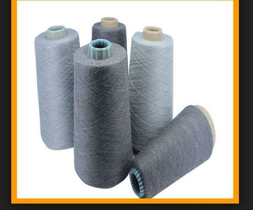 Recycled Polyester Melange Yarn, Usage: Textile Industry | ID
