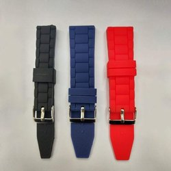 Silicon Watch Strap, Size/Dimension: 18 To 30 Mm
