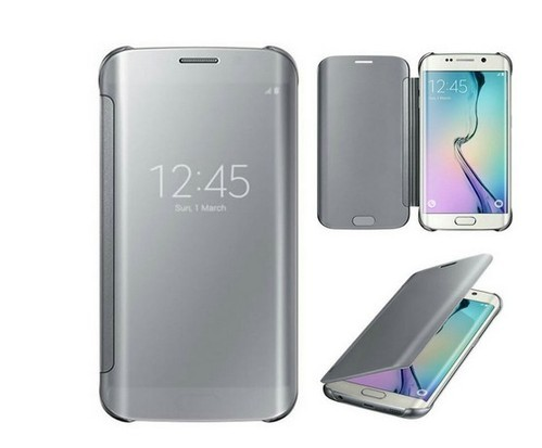 new product 5f0ce 8ed30 Flip Smart Cover Case For Samsung Galaxy A8 Silver
