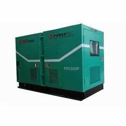 Diesel 30 KVA Portable Industrial Generator On Rent, in Pan India