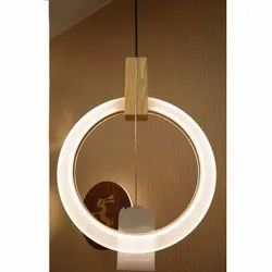 LED Hanging Round Panel Light