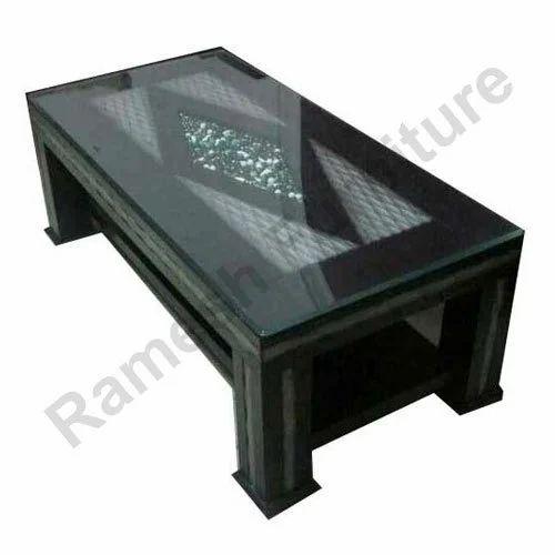 Superieur Dark Brown Wooden Center Table