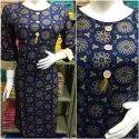 Ladies Fancy Printed Cotton Kurti