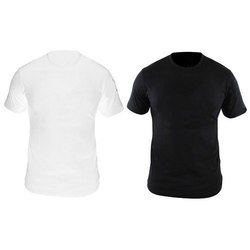 Polyester Plain Mens Stylish T-Shirt