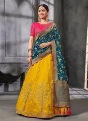 Heavy Silk Bridal Wear Lehenga Choli