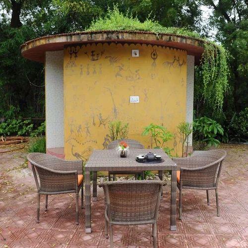 Wicker Outdoor Table Set