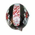 Global Open Face Motorcycle Helmet, Size: S