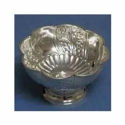 German Silver Ice Cream Bowl