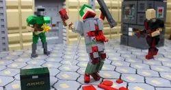 Square Flooring Epic Rubber Bricks