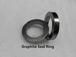 Graphite Ring, Graphite Braided Ring