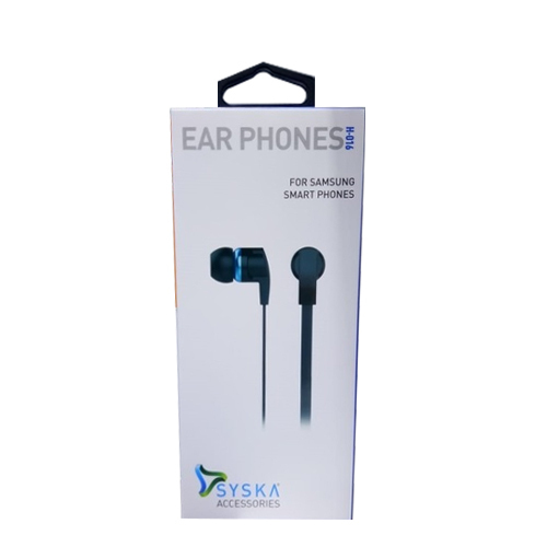 23d86f9713a Syska H016 Blue Earphone, Packaging Type: Box, Rs 240 /piece | ID ...