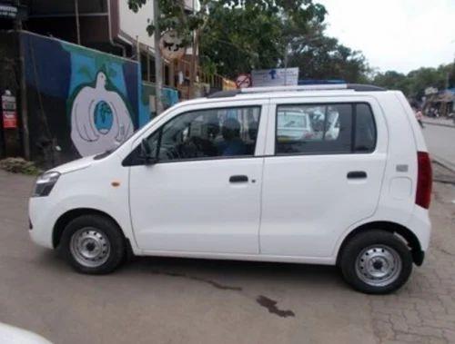 Maruti Suzuki Wagon R White Color Car at Rs 320000 /piece   मोटर