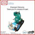 Engine Driven Triplex Plunger Pump