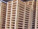 ISPM15 Heat treated Wooden Pallets