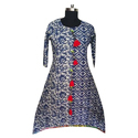 Womens A Line Cotton Kurti