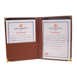 Leatherite Brown No 6 Convocation File