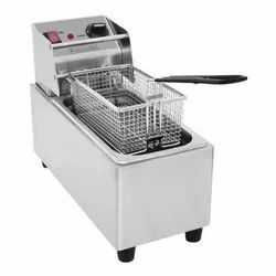 Deep Fryer (French Fries) Double Electric Gas With Stand 5 5 Ltr