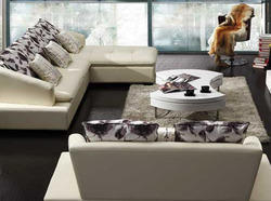 Branded Leather And Faux Leather Furnishings