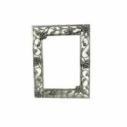 Rectangle Brass Glass Mirror Frame