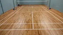Badminton Wooden Sport Flooring