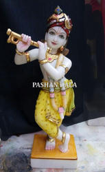 Krishna Marble Decorative Statue