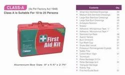 Red Aluminium Class A Industrial First Aid Kit / Medical Kit / Emergency Kit, Packaging Type: Box