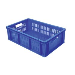 Plastic Rectangular 53150 Sp Material Handling Crates, For Industrial, Capacity: 19 Litres