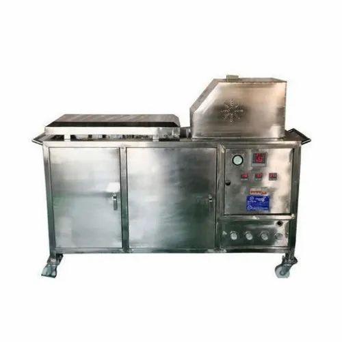 Stainless Steel Astra Semi Automatic Roti Making Machine