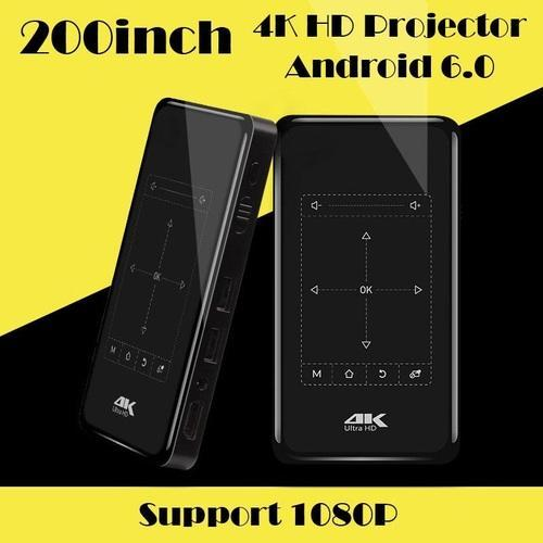 32c411ddde0311 Black Mini Android Based Portable Projector, Rs 18000 /piece   ID ...