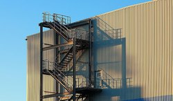 Straight Run Industries Multilevel Stairs for Industry