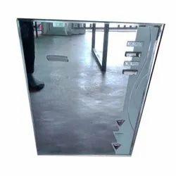 Glass Modern Wall Mirror, Packaging Type: Box, Mirror Shape: Rectangular