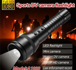 1080P Flashlight Outdoor Sports Spy Camera