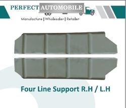 Stainless Steel And Aluminium Four Line Support Lh / Rh