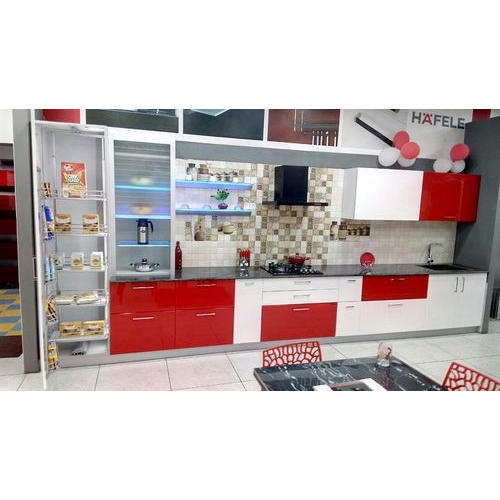 Designer Modular Kitchen Bisht Associates Manufacturer In