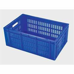 Rectangular Supreme Industrial Plastic Crate