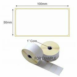 Self Adhesive Sticker 100mm X 50mm
