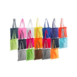 Jomco Handled Coloured Cotton Bags