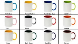 Sublimation Inner Color Blank Mugs