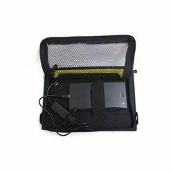Black Solar Tablet Charger