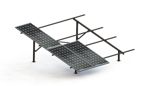 Nes 1- Roof Top And Ground Mounted Structure In Low Height