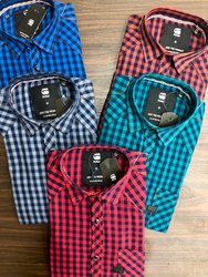 Gstar Raw Indigo Denim Single Pocket Casual Shirt