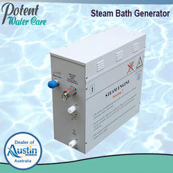 Gray Steam Bath Generator