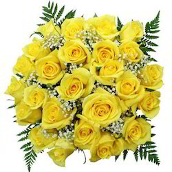 Beauty Of 30 Yellow Roses